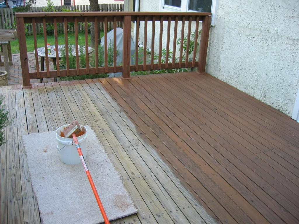 Easy Guide To Staining Your Deck Accurate Home Inspection Calgary